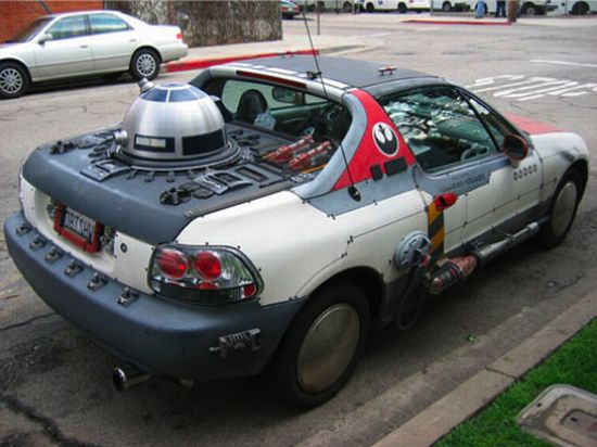 Carros inspirados em filmes