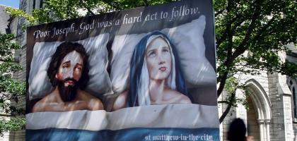 cartaz maria jose polemico