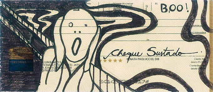 obra de artes em cheques (1)