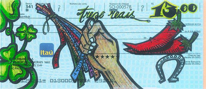 obra de artes em cheques (8)
