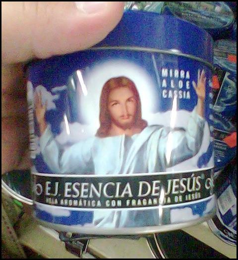 fragancia de jesus