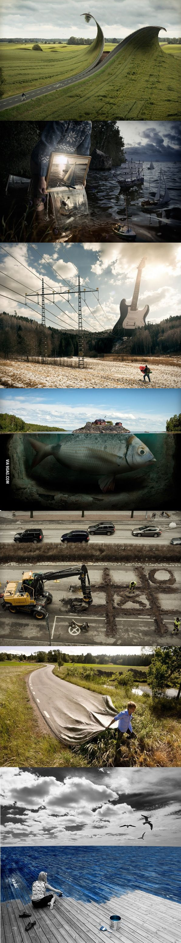 Photoshop Genius Erik Johansson.