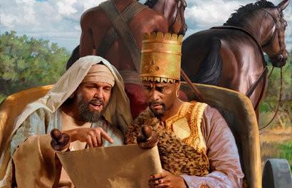 palavra profética felipe e o eunuco